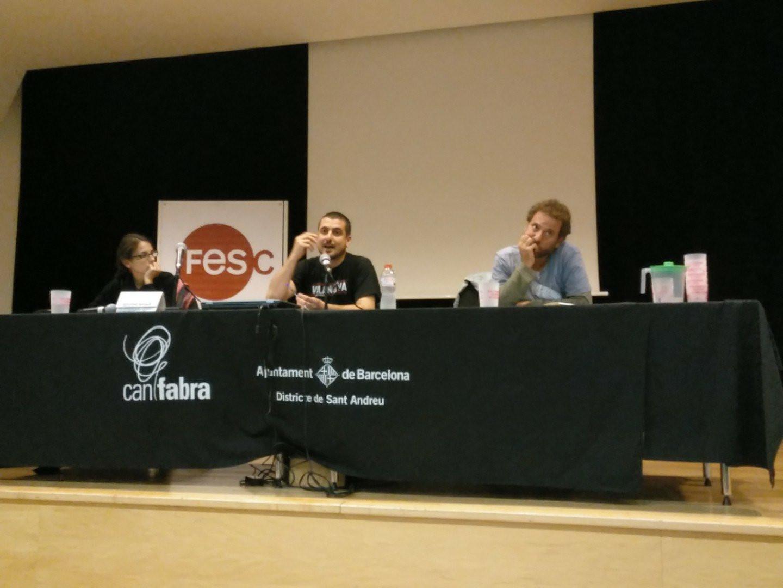 Taula rodona FESC 2018 drets socials aigua
