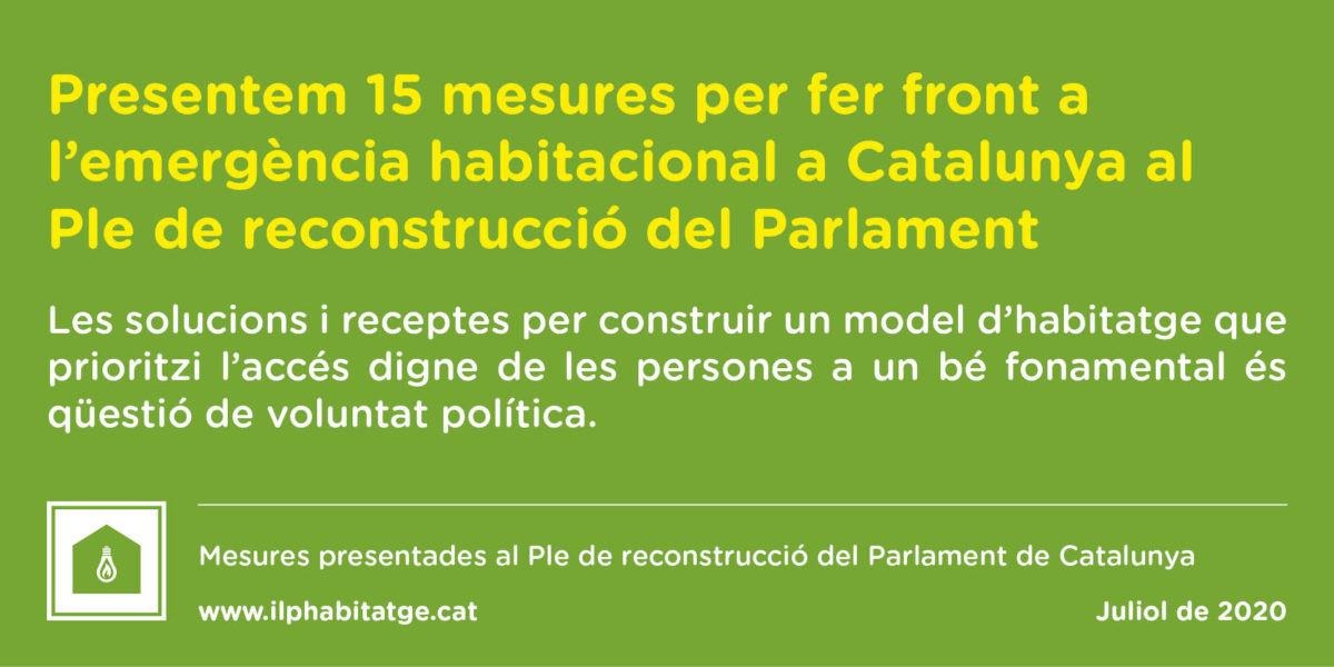 pacte-reconstruccio-parlament-comissio-ilp-habitatge